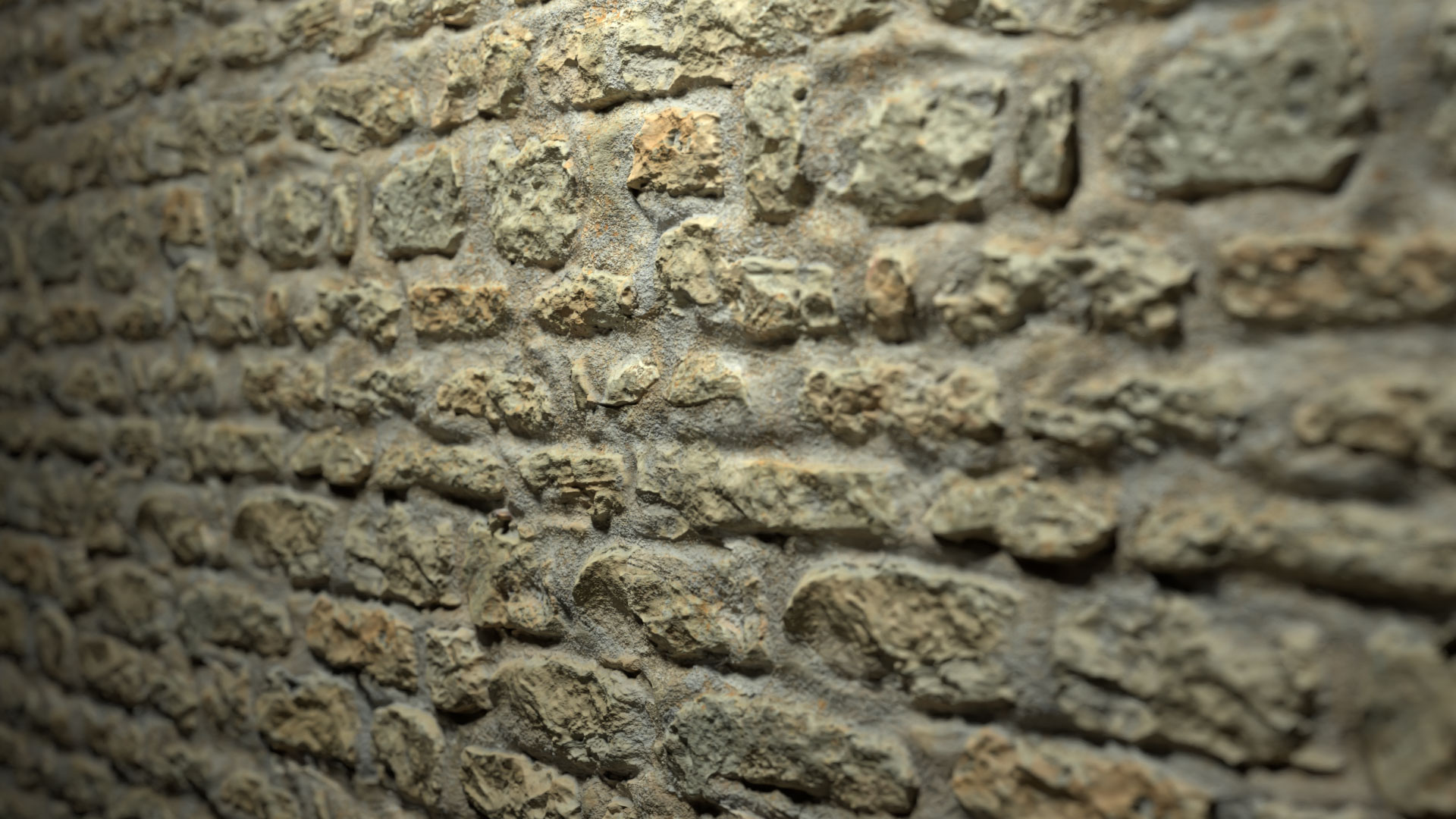 Stone Wall PBR Textures